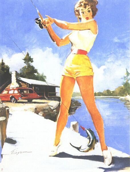 Джил Элвгрен, «Рыбалка»