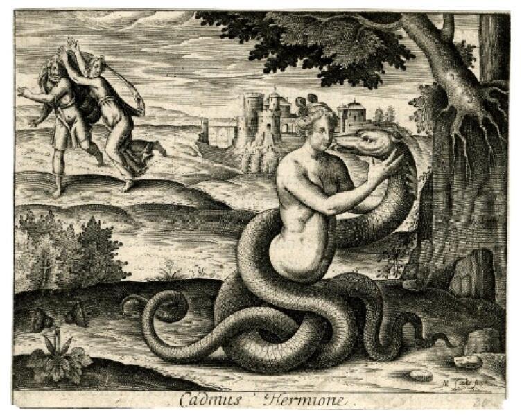 Мишель Фольт (Michel Faulte), «Кадм и Гармония», 1615 г.Фото: ru.wikipedia.org