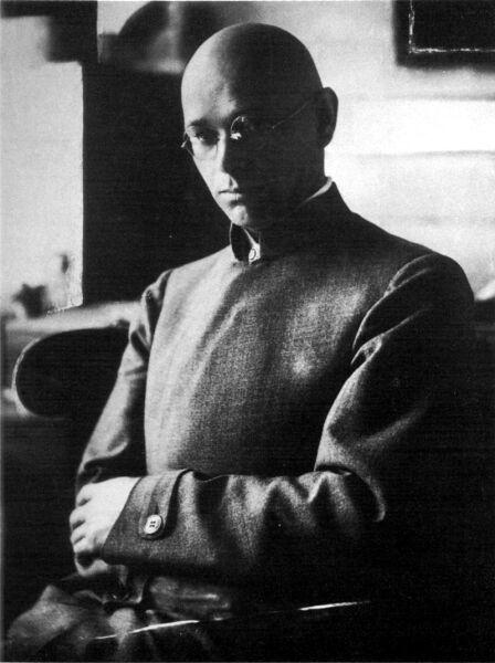 Иоганнес Иттен, начало 1920-х гг.