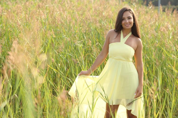 Свободная юбка скроет живот