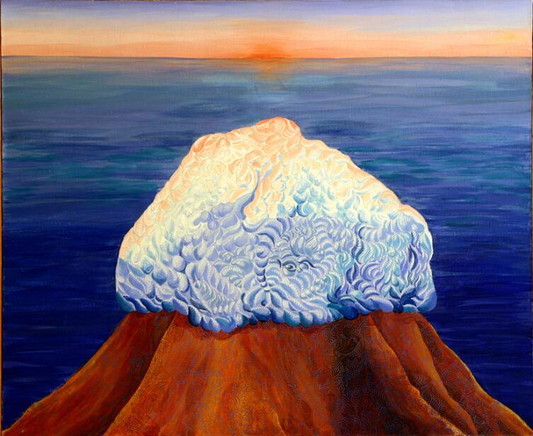 Художественное видение составляющих сакрального центра: Океан-море, Буян, Алатырь