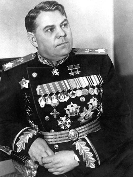 Маршал Советского Союза А. М. Василевский