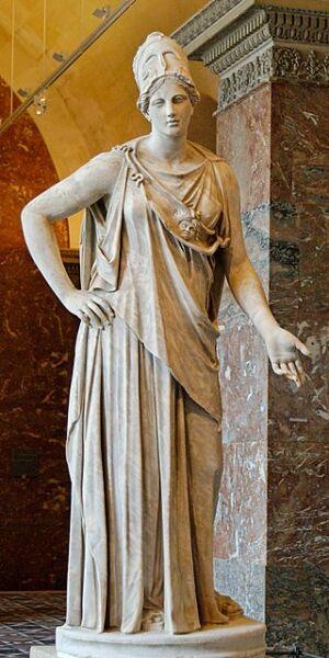 «Афина Маттеи» (Mattei Athena) в Лувре