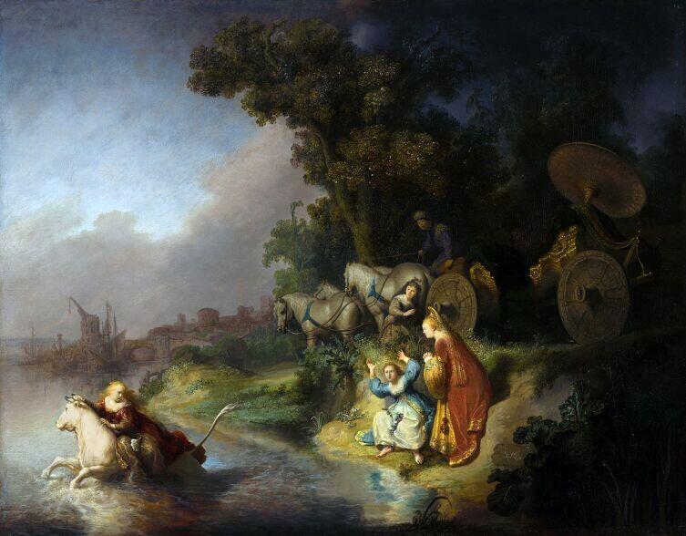 Рембрандт, «Похищение Европы», 1632 г.
