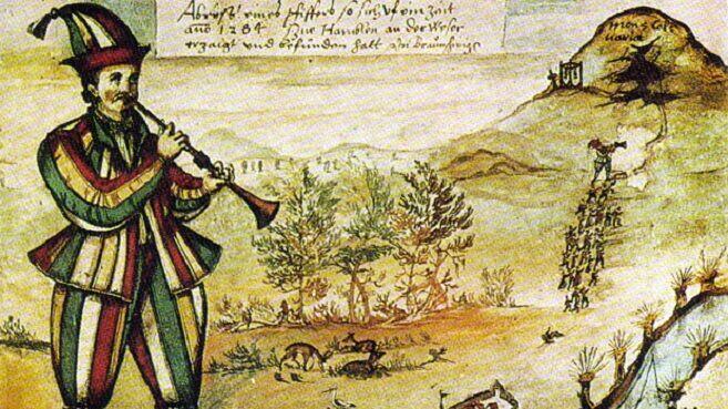 Рисунок барона Августина фон Мёрсперга, 1595 г.