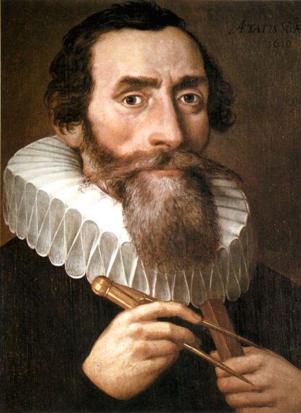 Иоганн Кеплер, 1610 г.