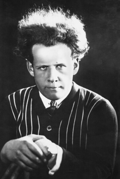 Сергей Эйзенштейн в 1910 г.