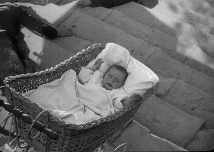 Кадр из фильма «Броненосец «Потёмкин»