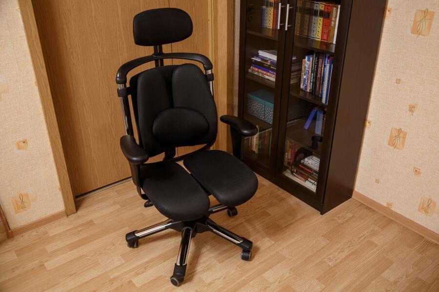 Какое ортопедическое кресло купить для работы за компьютером? Обзор Harachair Nietzsche
