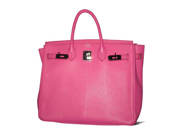 Розовая сумка «Биркин»