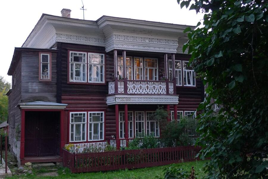 Дом Воробьева в Вологде
