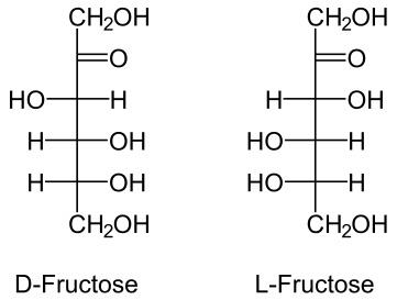 Формулы фруктозы