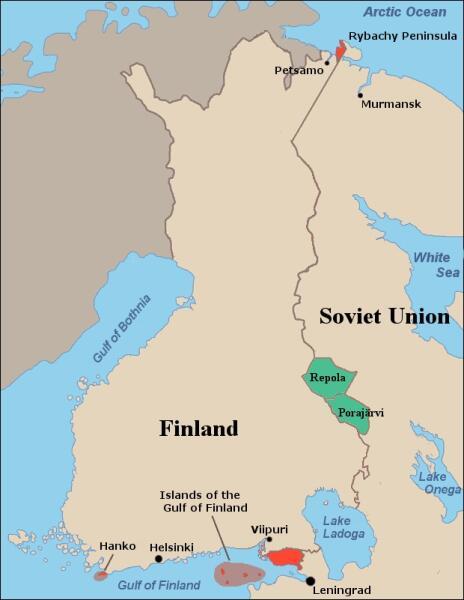 Советское предложение обмена территориями