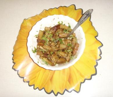 Как я пробовал готовить по-японски баклажаны и кабачки?