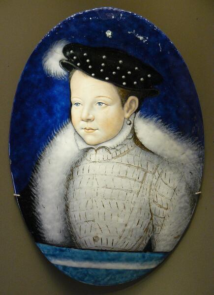 Франциск в детстве 1551 г.