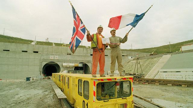 Туннель под Ла-Маншем. Как соединяли Англию и Францию?