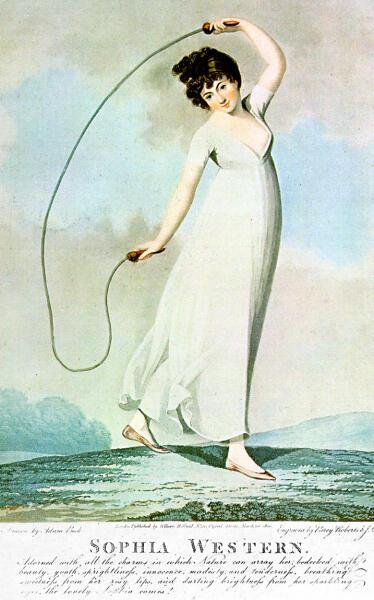 Стэдлер Джозеф Константин, «Девушка со скакалкой», 1800 г.