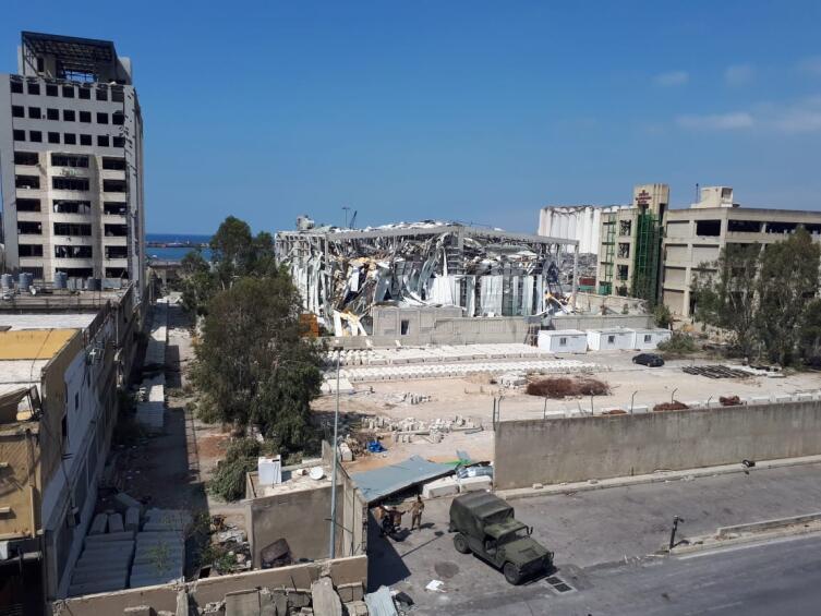 Бейрут после взрыва