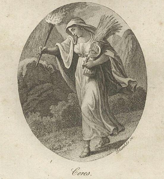 Ян Блашке, «Церера в поисках Прозерпины», 1786 г.