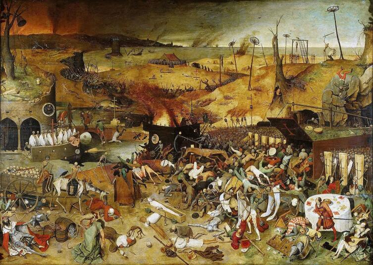 Питер Брейгель Старший, «Триумф смерти», 1562 г.