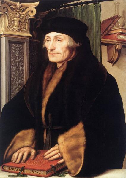 Ганс Гольбейн Младший, «Портрет Эразма Роттердамского»