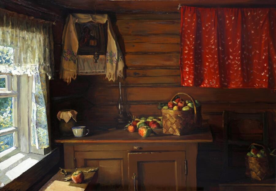 Григорий Леонтьевич Чайников, «Яблочный Спас», 2006 г.
