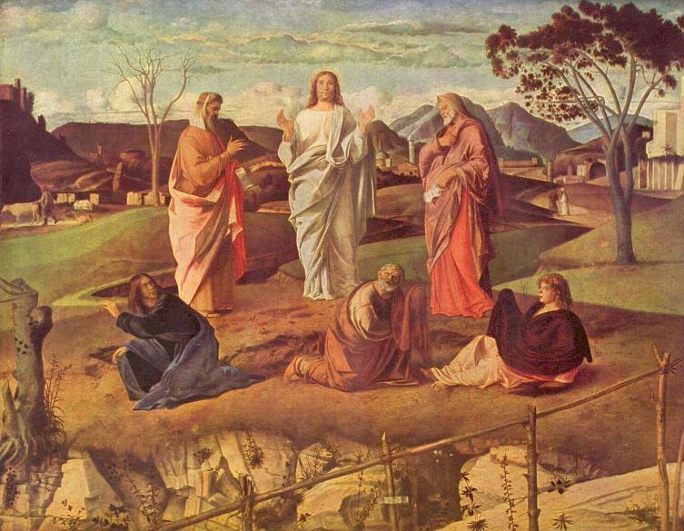 Джованни Беллини, «Преображение», 1480—1485 гг.