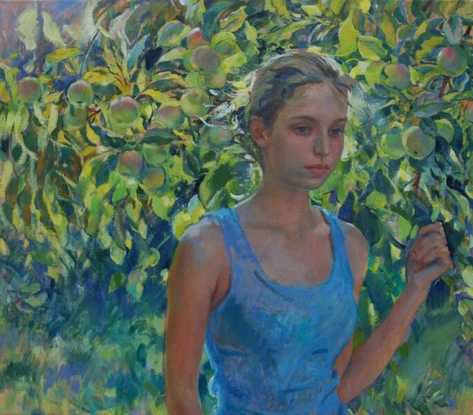 Ljubov Belych, «Яблочный Спас», 2014 г.