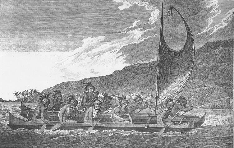 Полинезийский катамаран