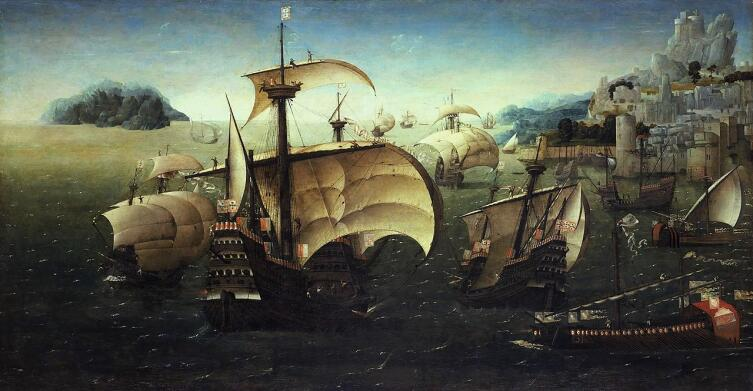 Португальская каракка, XVI век