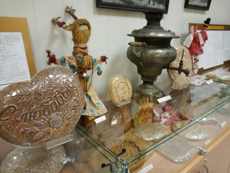 Экспозиция музея «Тульский пряник»