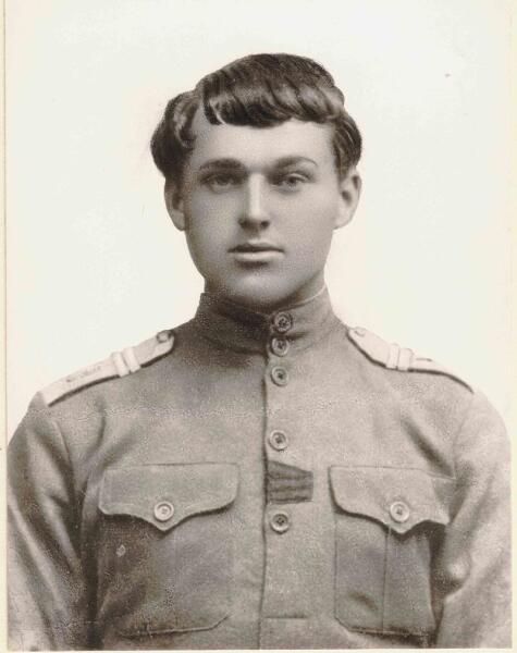 Младший унтер-офицер К. Рокоссовский, 1917 г.