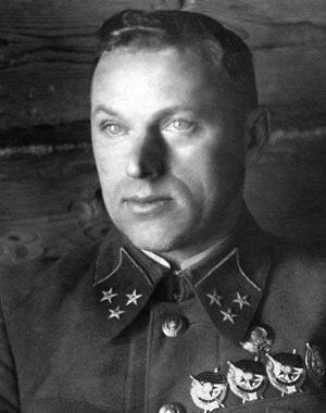 Генерал-лейтенант К. К. Рокоссовский, 1941 г.