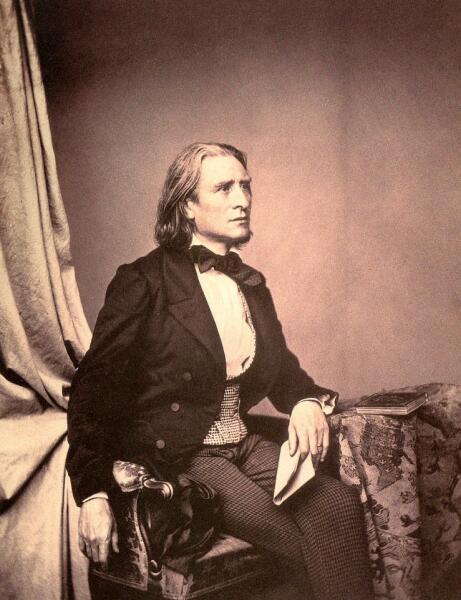 Ференц Лист, 1856 г.