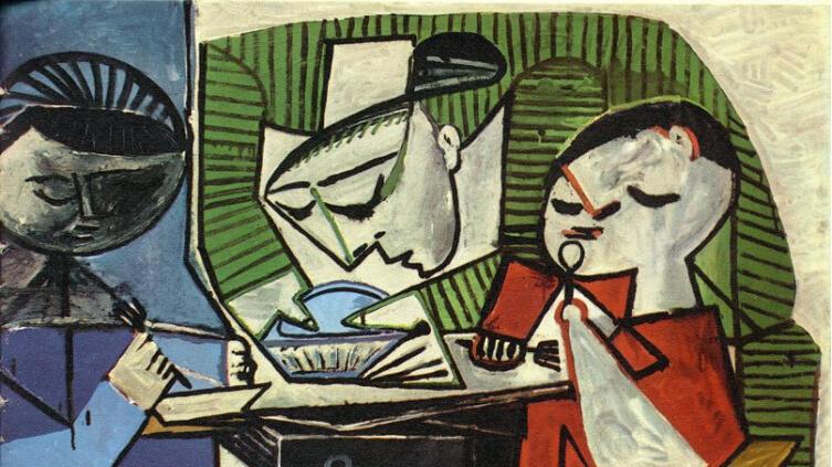 Пабло Пикассо, «Завтрак», 1953 г.