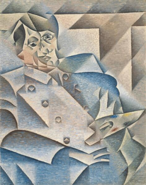 Хуан Грис, «Портрет Пабло Пикассо», 1912 г.