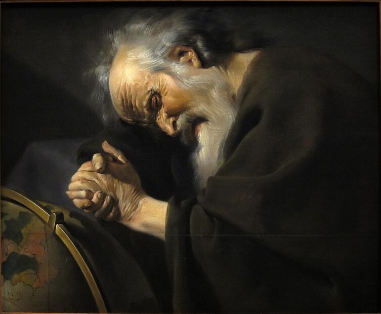 Иоганнес Паулюс Морельсе, «Гераклит Эфесский», ок. 1630 г.