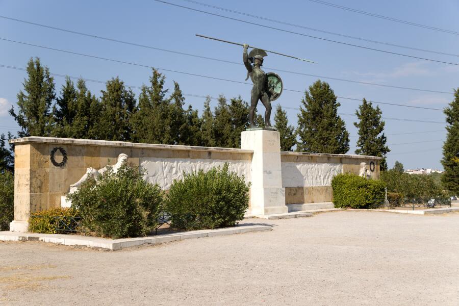 Памятник царю Леониду