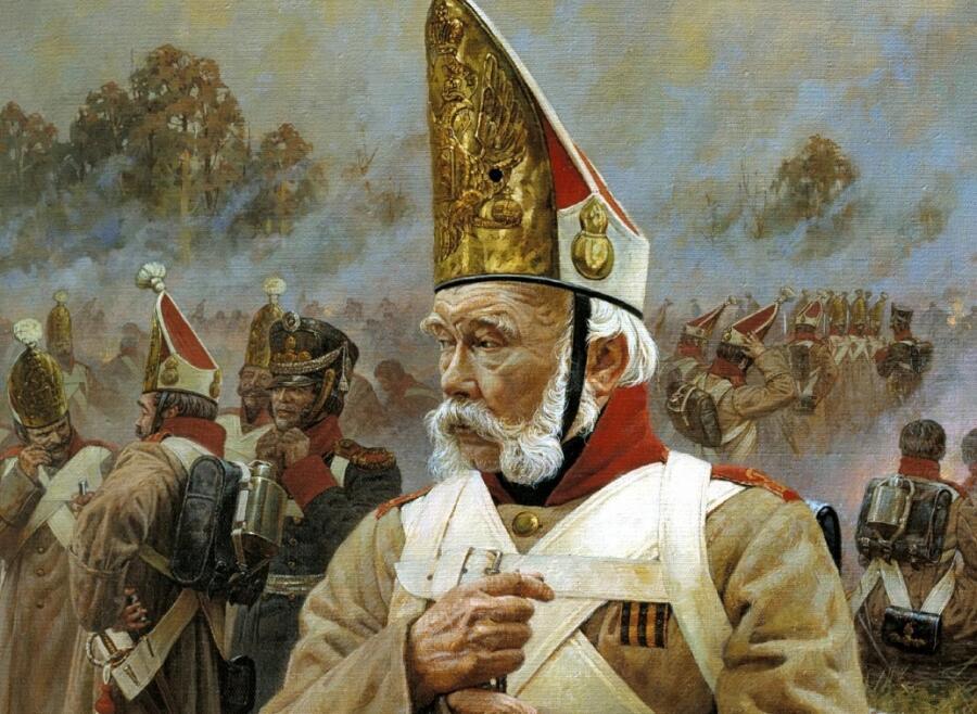 А. Ю. Аверьянов, «Ветеран», (фрагмент)