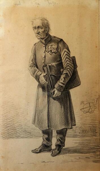 А. О. Орловский, «Инвалид», 1837 г.