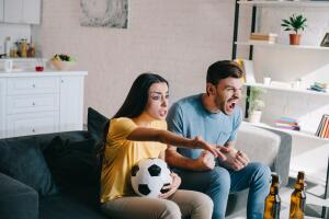 С тех пор и повелось: футбольный матч – новый рецептик...