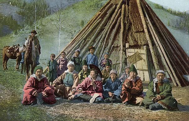 Алтайцы (начало XX века)