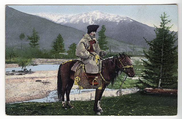 Мужчина в традиционной одежде