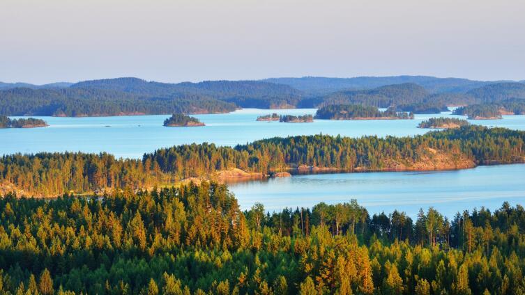 Озера Сайма, Финляндия