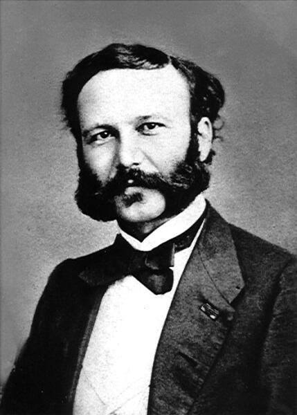 Анри Дюнан в 1860-х гг.