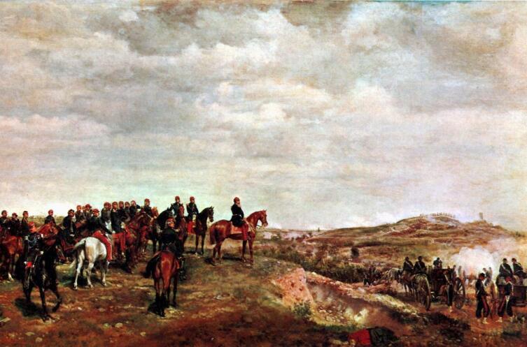 Жан-Луи-Эрнест Месонье, «Наполеон III в битве при Сольферино»