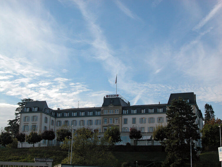 Штаб-квартира Международного комитета Красного Креста в Женеве