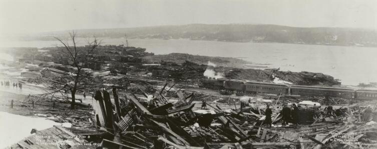 Руины Галифакса. 1917 г.