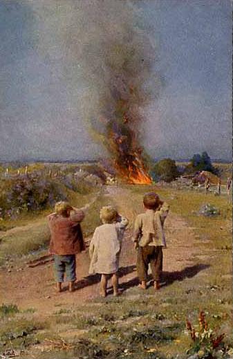 И. Л. Горохов, «Сорванцы. Набедокурили», 1912 г.