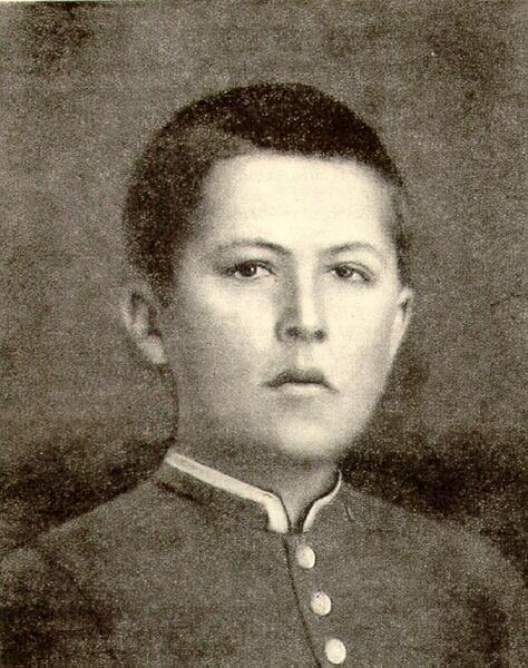 Гимназист Антон Чехов, 1874 г.